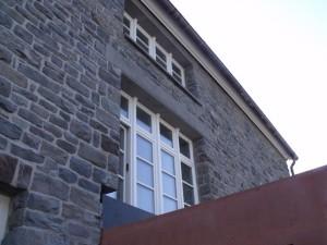 Holzfensterdetail Rathaus Hallenberg