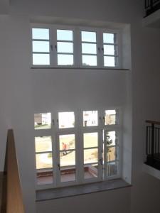 Innenansicht Holzfenster Rathaus Hallenberg7