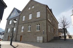 Rathaus Hallenberg Holzfenster