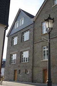 Rathaus Hallenberg Fenster Strassenseite 1