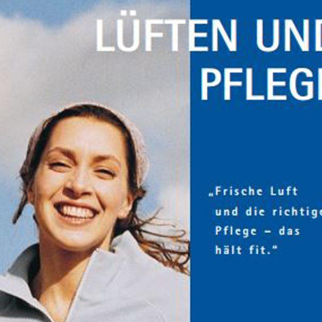 "Themenblatt ""Lüften"" von VEKA"