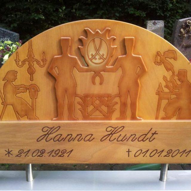 Holz-Grabstein – Eine revolutionäre Idee